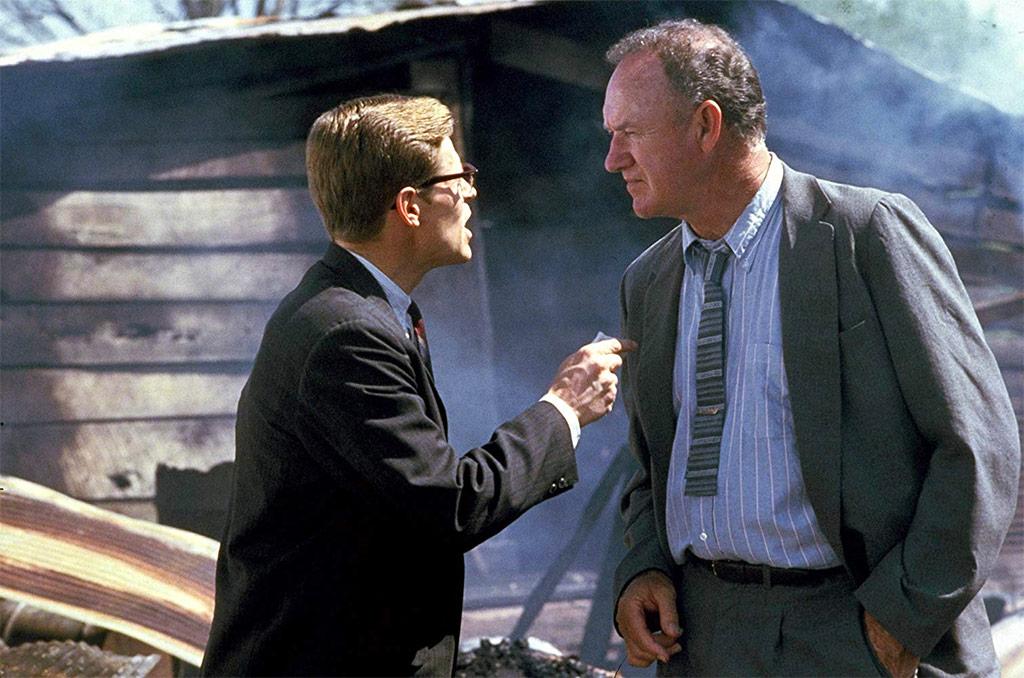 Gene Hackman, Willem Dafoe dans Mississippi Burning