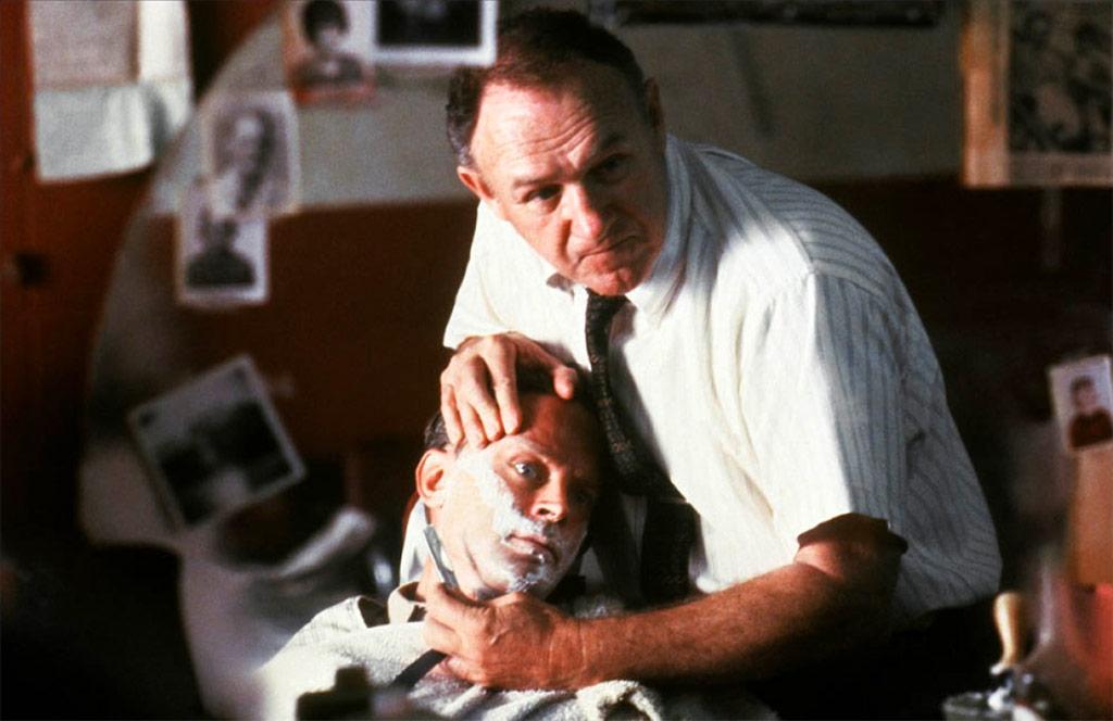 Gene Hackman, Brad Dourif dans Mississippi Burning