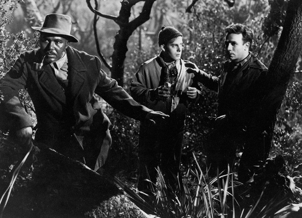 Rex Ingram, Dane Clark dans Moonrise