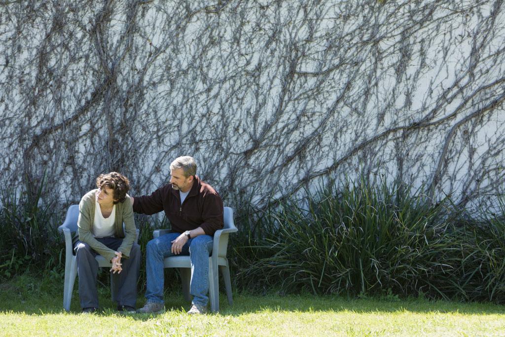 Steve Carell, Timothée Chalamet dans My Beautiful boy