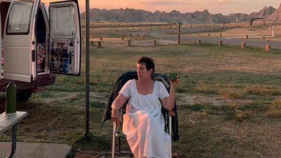 Frances McDormand dans Nomadland