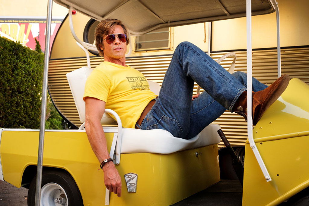 Brad Pitt dans Once upon a time… In Hollywood