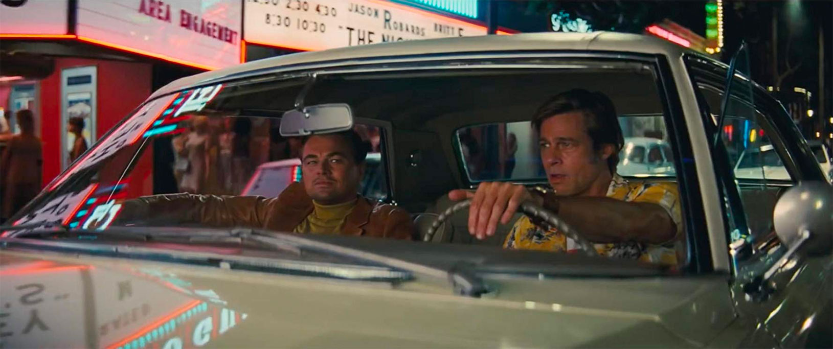 Leonardo DiCaprio, Brad Pitt dans Once upon a time… In Hollywood