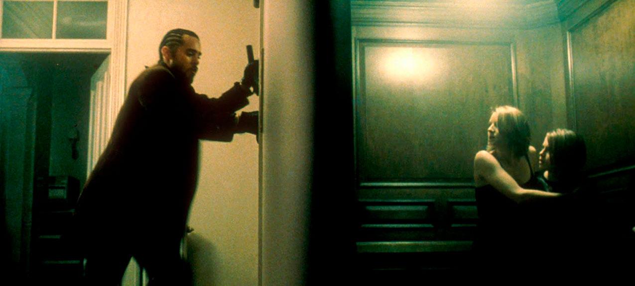 Jared Leto, Jodie Foster, Kristen Stewart dans Panic Room