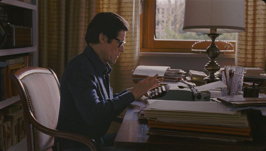 Willem Dafoe dans Pasolini