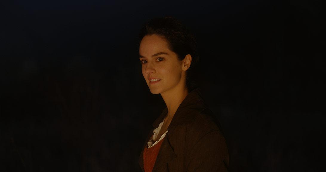 Noémie Merlant dans Portrait de la jeune fille en feu