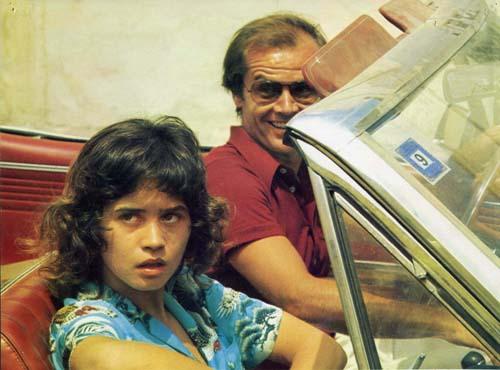 Jack Nicholson, Maria Schneider dans Profession reporter