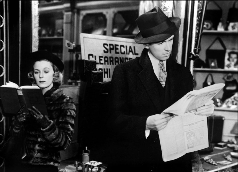Margaret Sullavan, James Stewart dans Rendez-vous