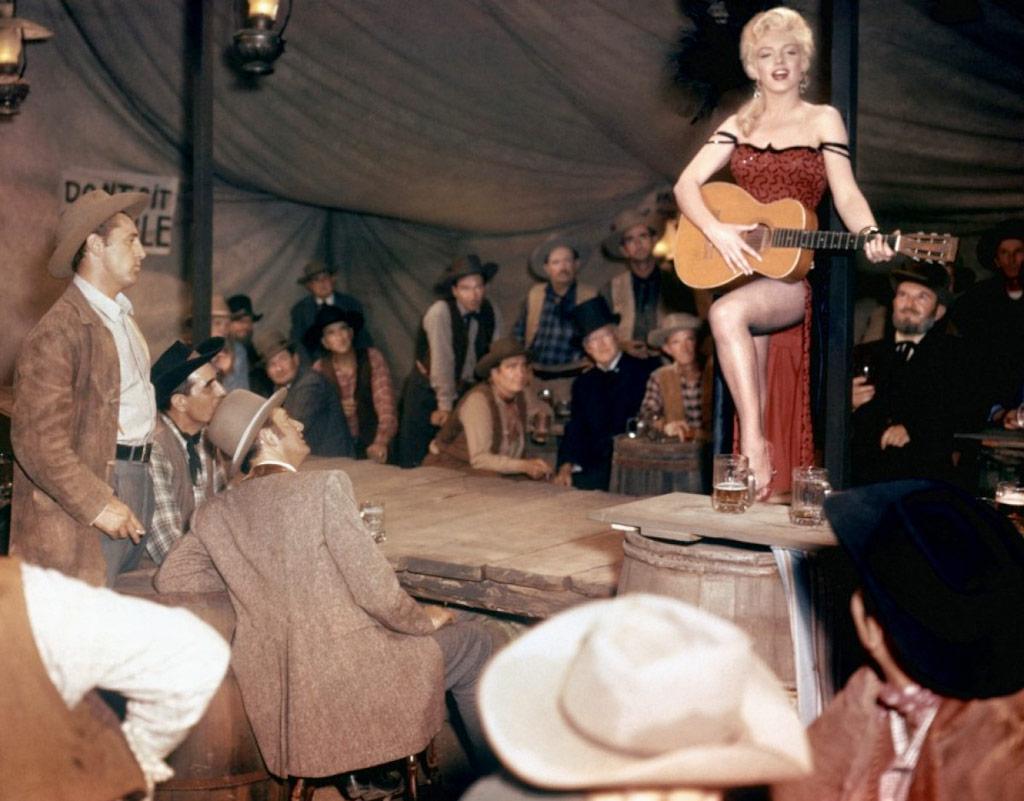Marilyn Monroe dans Rivière sans retour