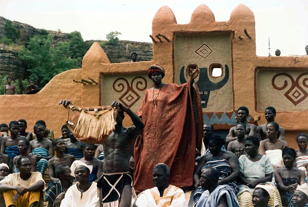Aï Keïta dans Sarraounia © Collection Med Hondo - Ciné-archives