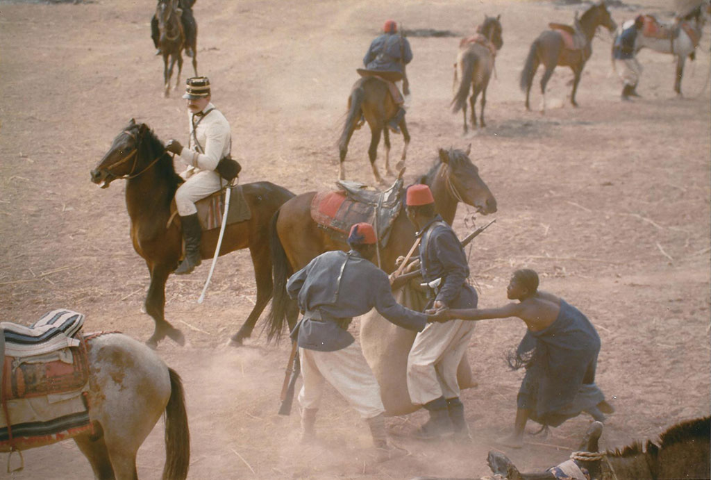 Jean-Roger Milo dans Sarraounia © Collection Med Hondo - Ciné-archives