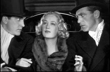 Fredric March, Miriam Hopkins, Gary Cooper dans Sérénade à trois