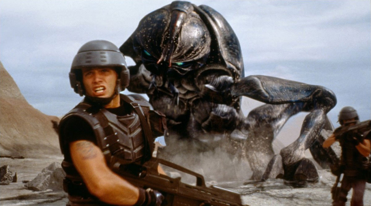 Casper Van Dien dans Starship Troopers
