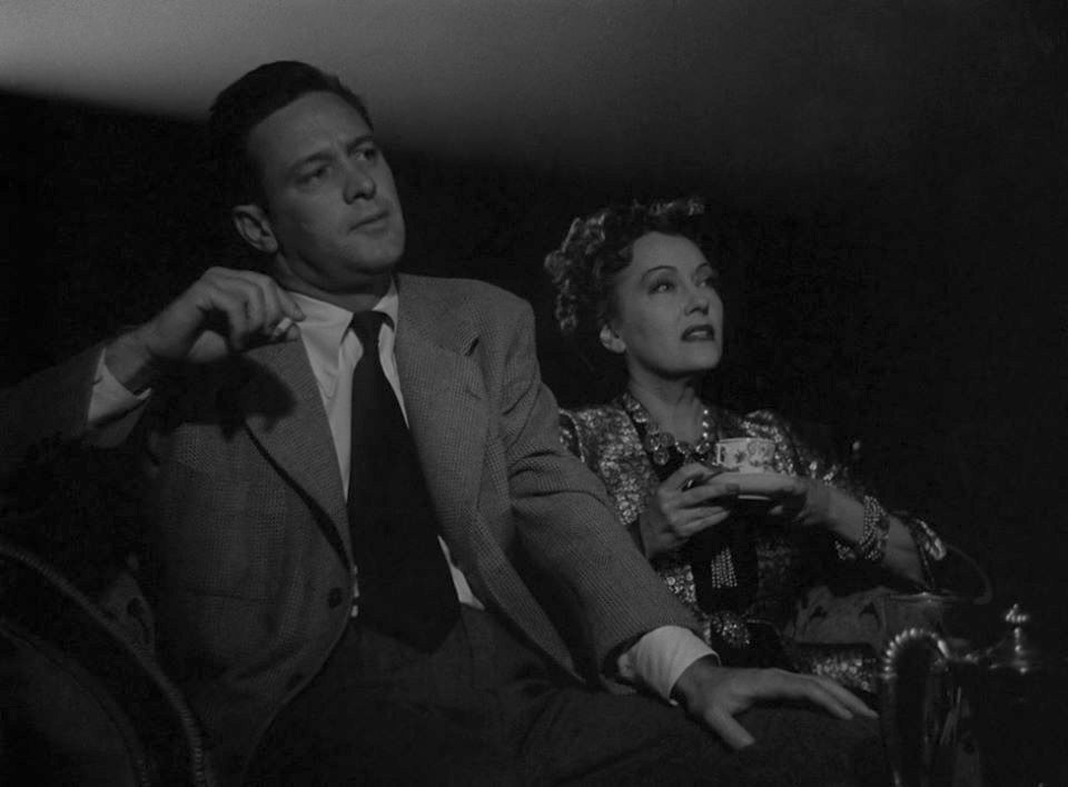 William Holden, Gloria Swanson dans Sunset Boulevard