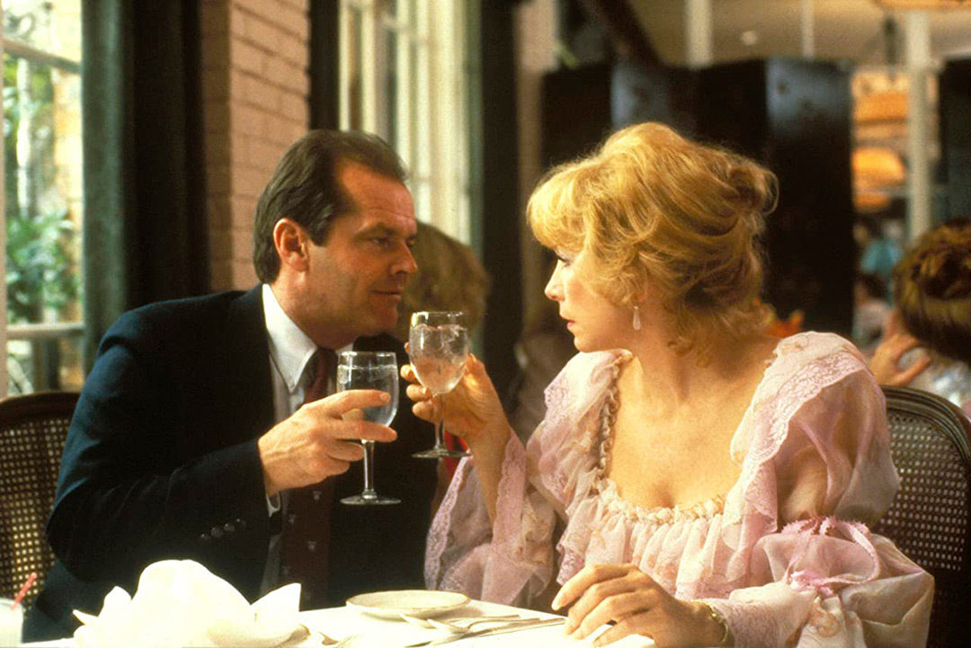 Shirley MacLaine, Jack Nicholson dans Tendres Passions