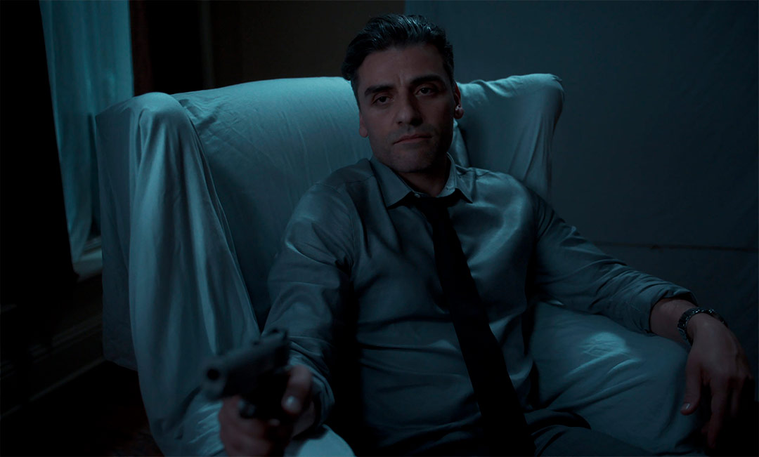 Oscar Isaac dans The Card Counter