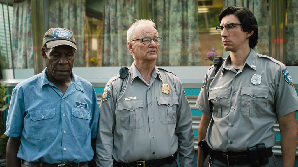 Danny Glover, Adam Driver, Bill Murray dans The Dead don't die