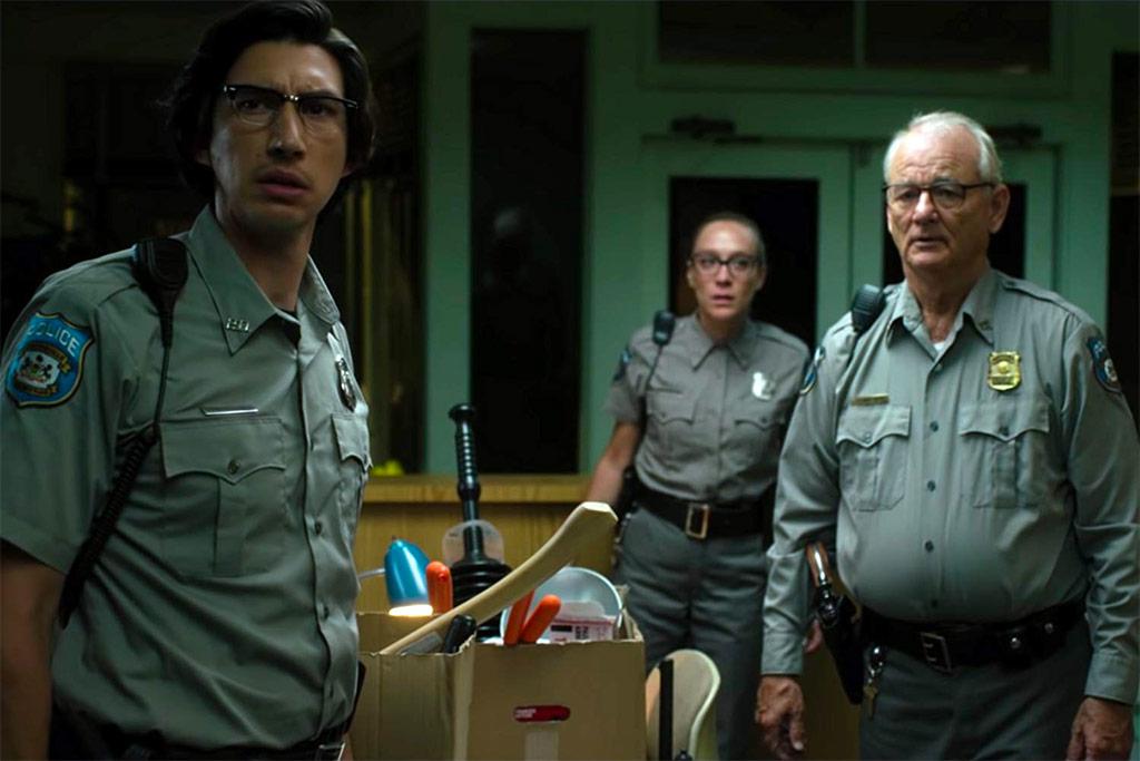 Chloë Sevigny, Adam Driver, Bill Murray dans The Dead don't die