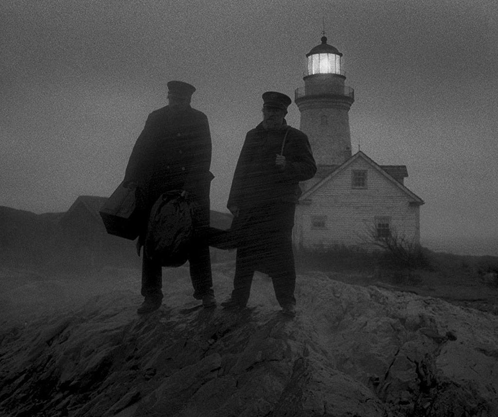 Willem Dafoe, Robert Pattinson dans The Lighthouse