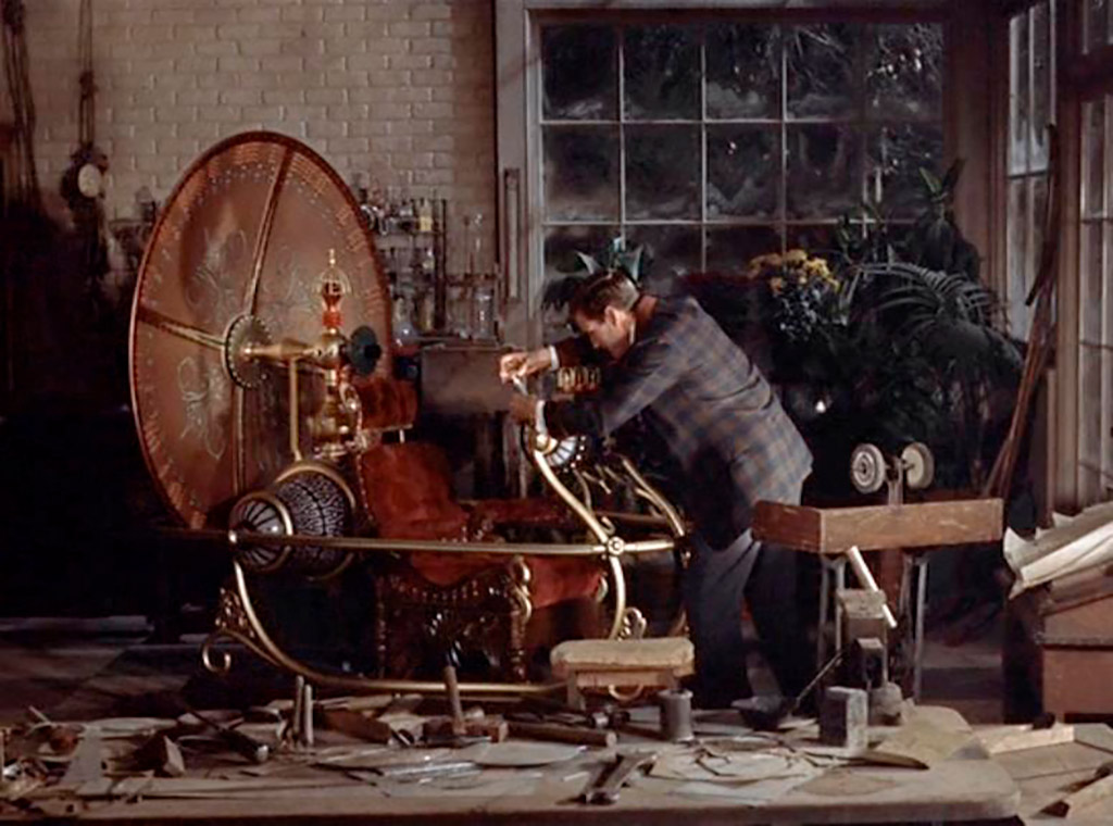 Rod Taylor dans La Machine à explorer le temps