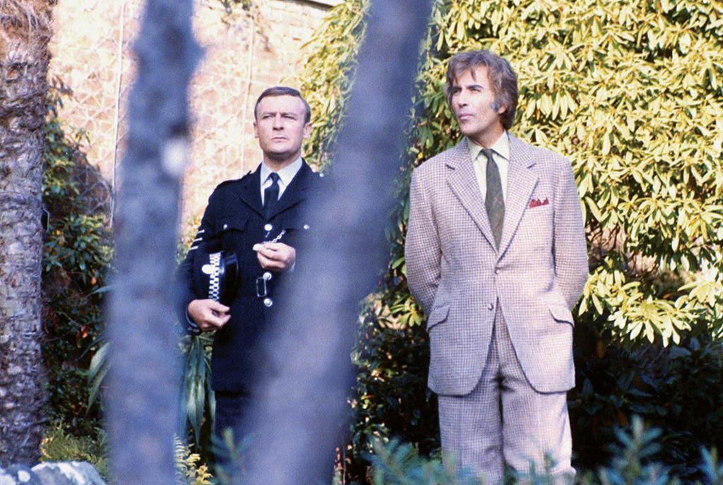 Edward Woodward, Christopher Lee dans The Wicker Man