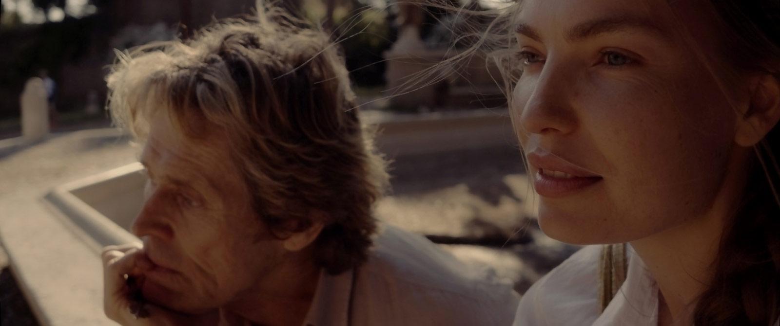 Willem Dafoe, Cristina Chiriac dans Tommaso