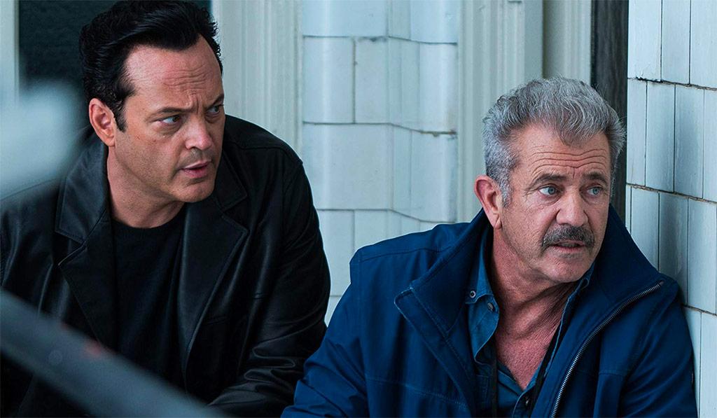 Mel Gibson, Vince Vaughn dans Traîné sur le bitume