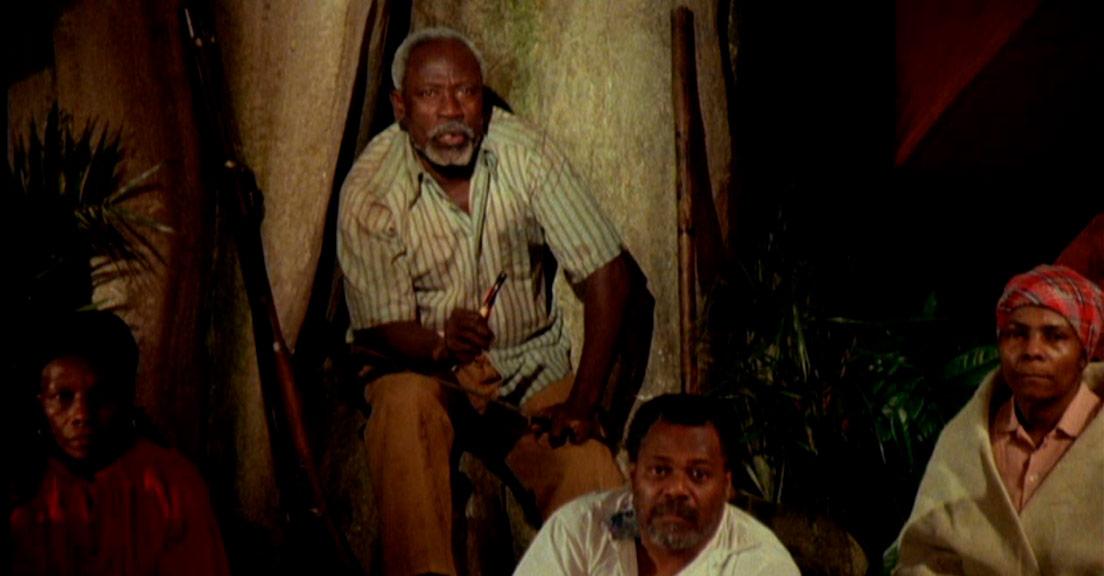 Dans West Indies, les nègres marrons de la liberté