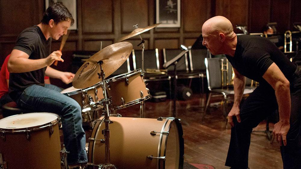Miles Teller, J.K. Simmons dans Whiplash