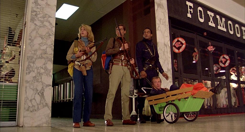 David Emge, Ken Foree, Scott H. Reiniger, Gaylen Ross Dans Zombie